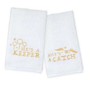 Harry Potter Quidditch Hand Towel Set